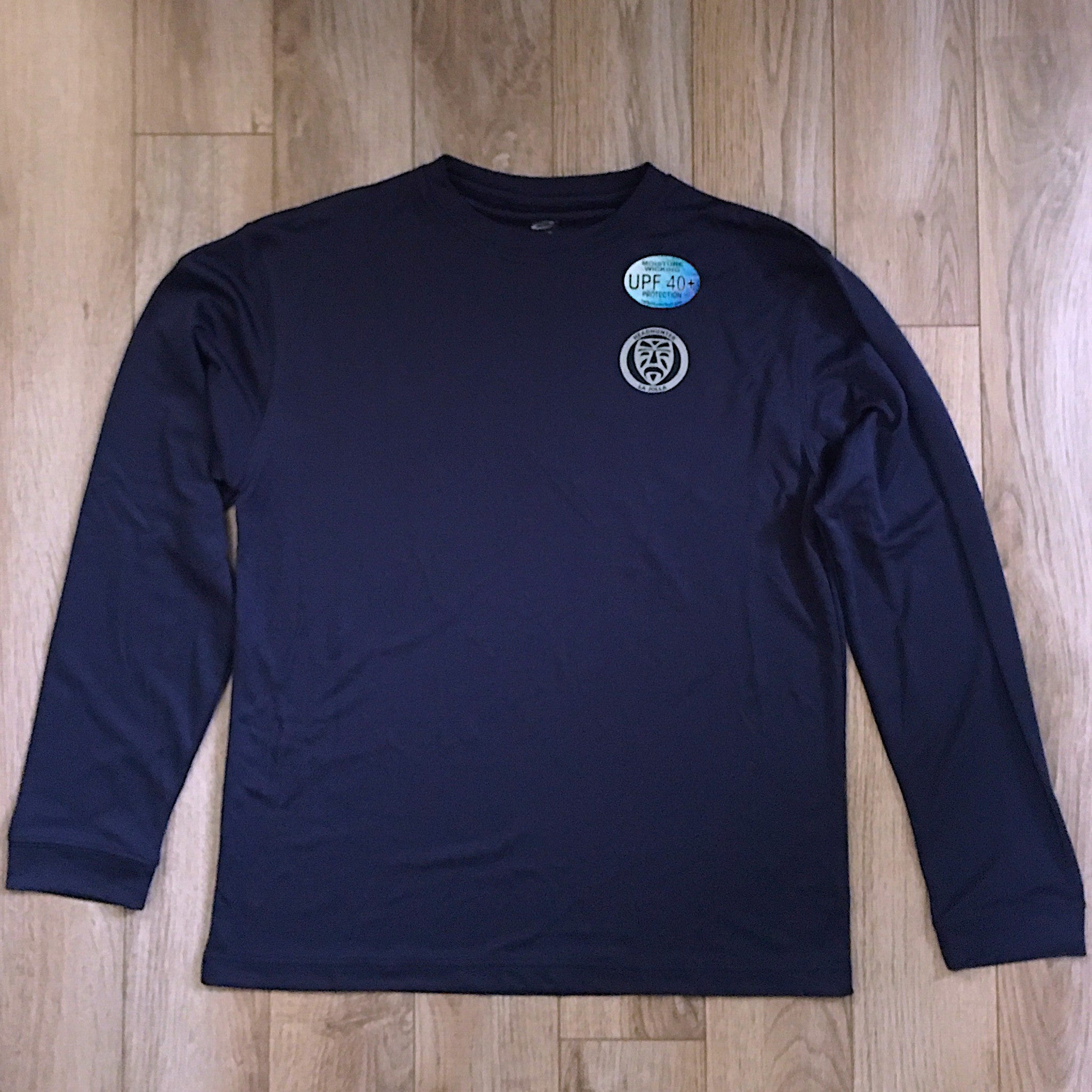 Headhunter Sun Shirt / Navy / LS