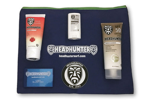Headhunter Suncare System - Clear White / Free Shipping / Great Gift!