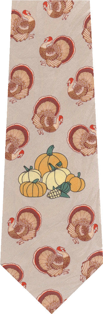 Turkey's Thanksgiving New Novelty Tie