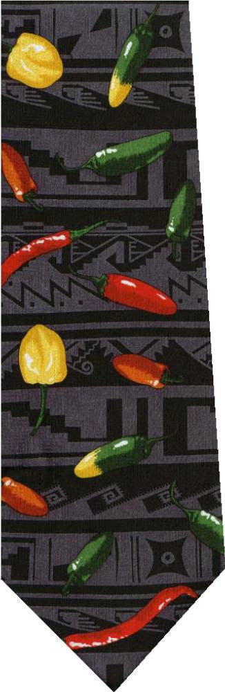 Hot Peppers New Novelty Tie