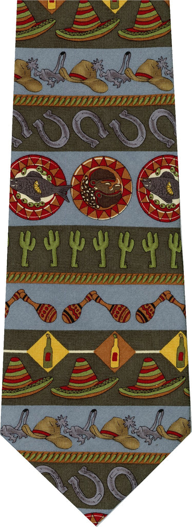Maracas Saguaro New Novelty Tie