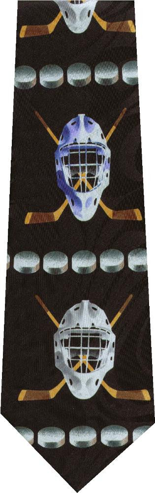 Hockey Masks New Novelty Tie