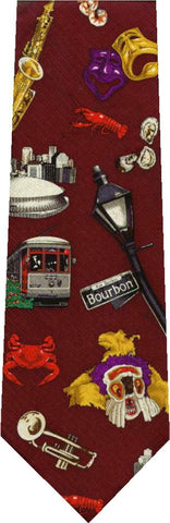 Double Decker Bus New Novelty Tie