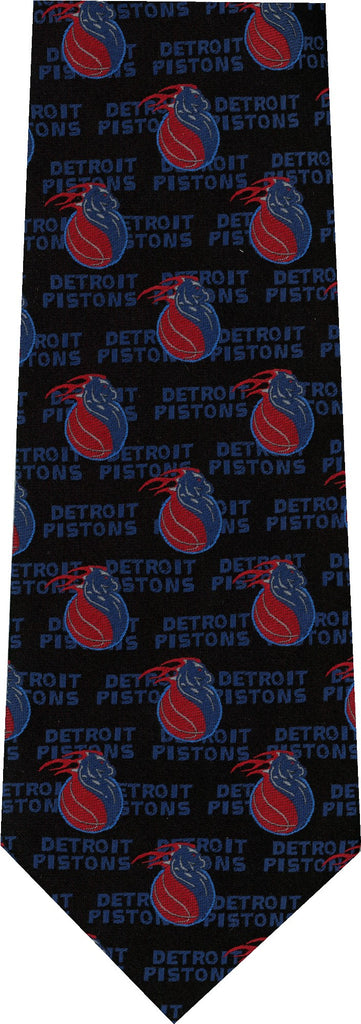 Detroit Pistons New Novelty Tie