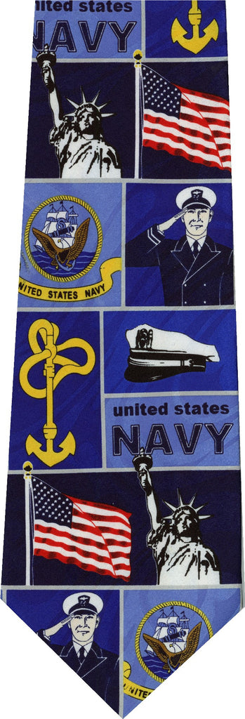 Navy New Novelty Tie