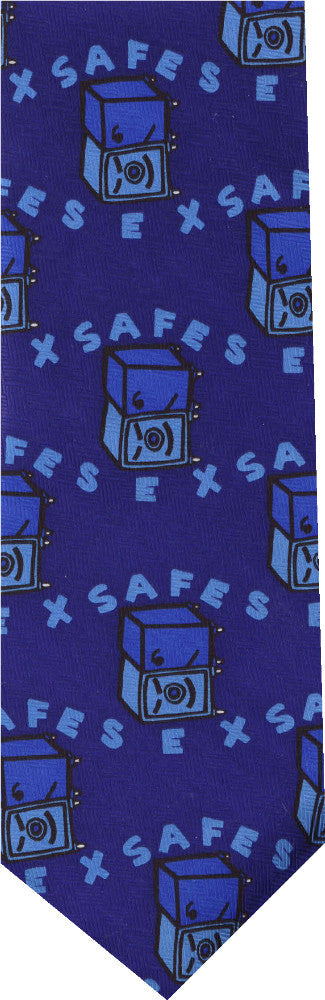 Safe Sex New Novelty Tie