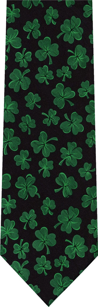 Clover All Over St Patricks Day New Novelty Tie