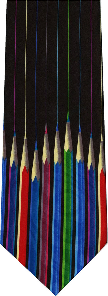 Colored Pencils New Novelty Tie