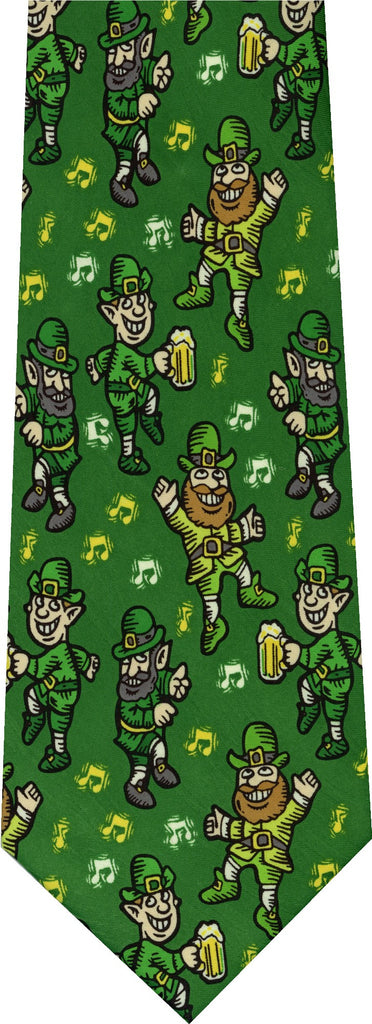 Leprechauns St Patricks Day New Novelty Tie