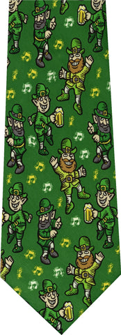Clover Happy St Pattys New Novelty Tie
