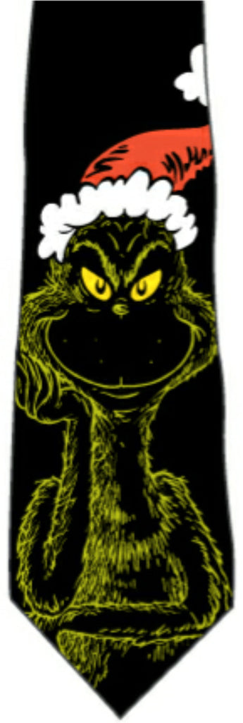 Dr Seuss's Grinch New Novelty Tie