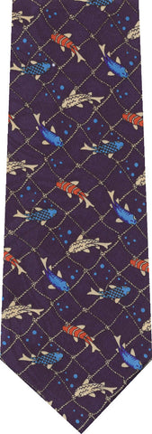 Lobsters on Black Animal New Novelty Tie