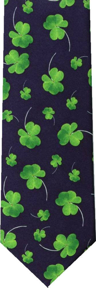 Clover  Shamrocks St Patricks Day New Novelty Tie