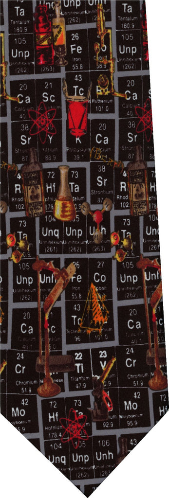 Periodic Table New Novelty Tie