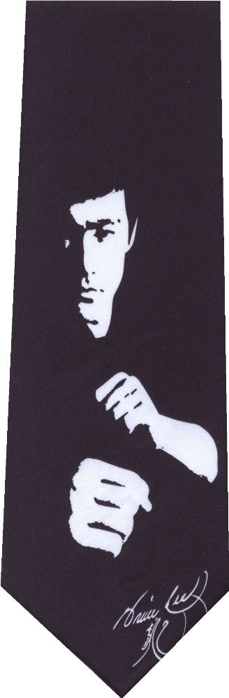 Bruce Lee Karate New Novelty Tie