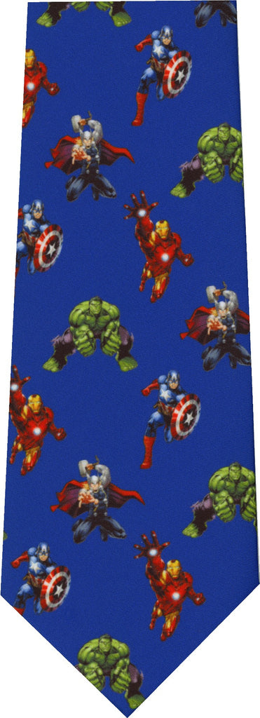 Avengers Repeat New Novelty Tie