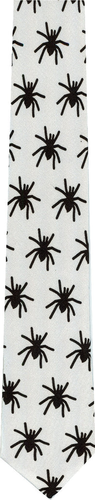 Spiders Halloween New Novelty Tie