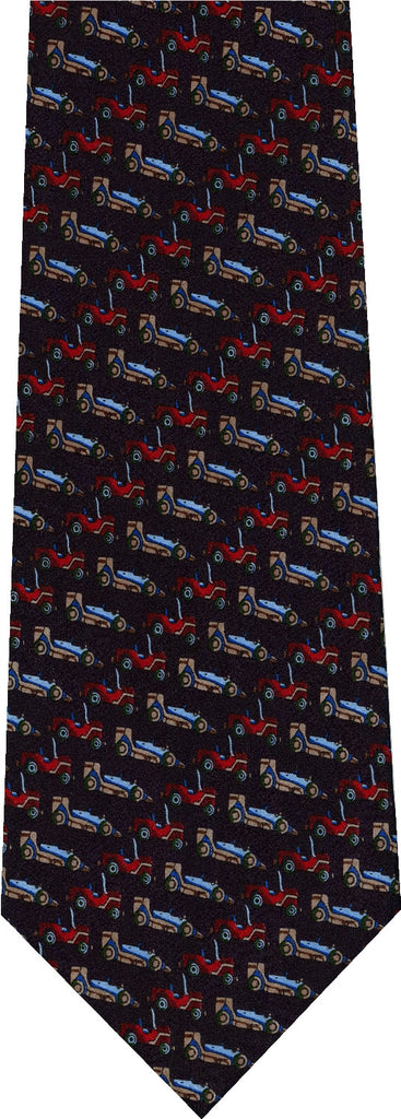 Race Cars New Novelty Tie