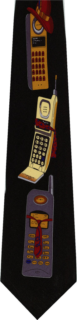 Cell Phones New Novelty Tie