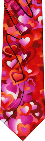 Jerry Garcia Ex Long Valentines New Novelty Tie
