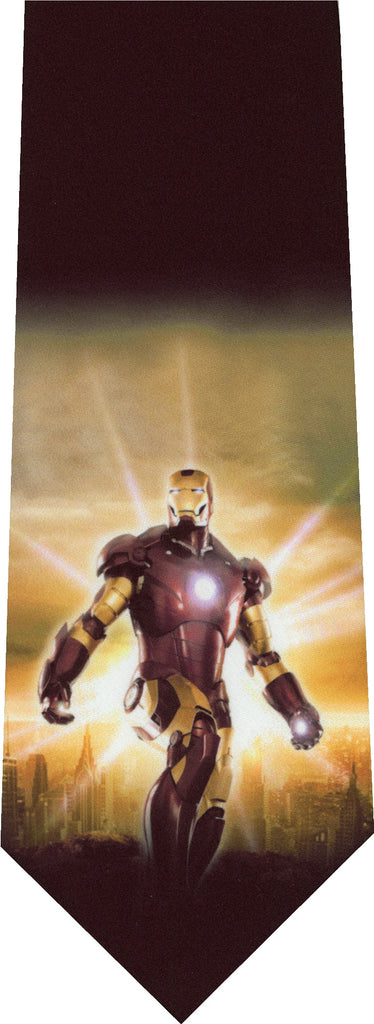 Ironman Destruction New Novelty Tie