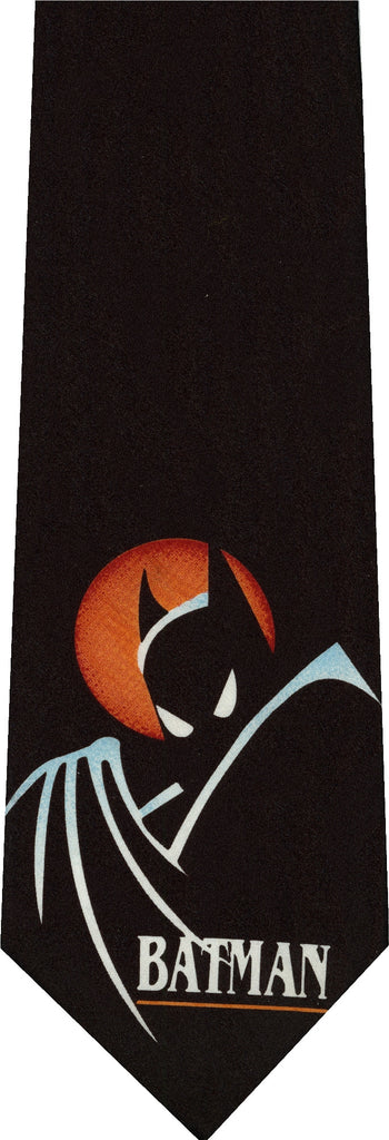 Batman Glowing Moon New Novelty Tie