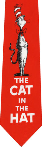 Dr Seuss's Cat in the Hat New Novelty Tie