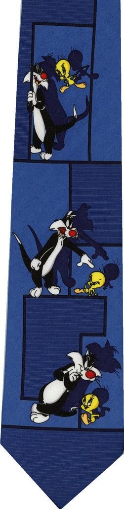 Sylvester and Tweety New Novelty Tie