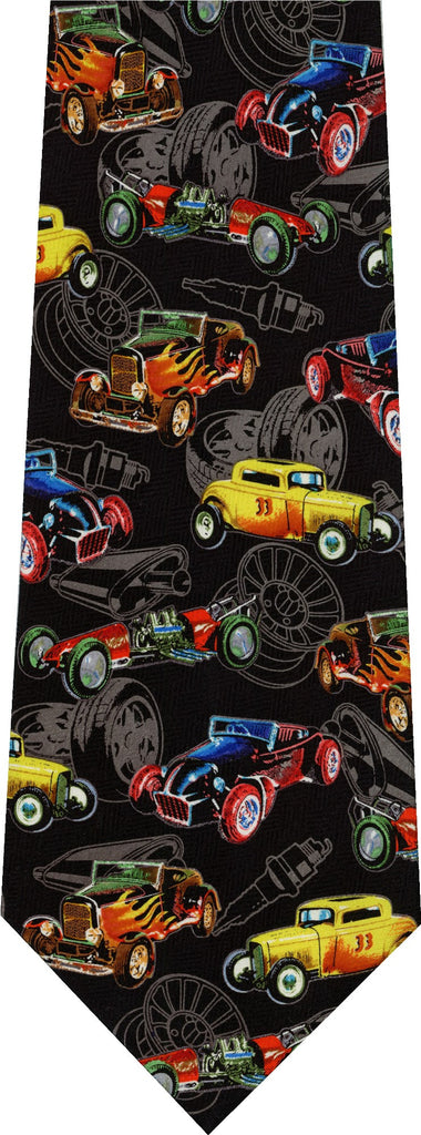 Hot Rod Cars New Novelty Tie