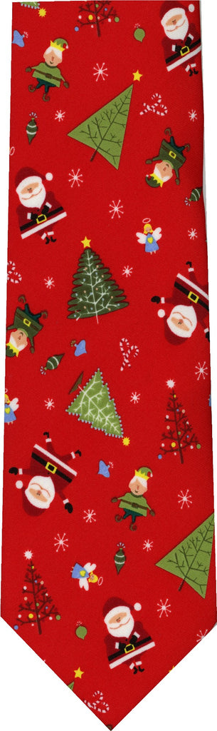 Santa and his Elves Christmas New Novelty Tie