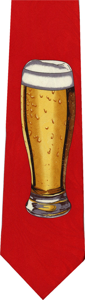 Glass of Beer New Novelty Tie