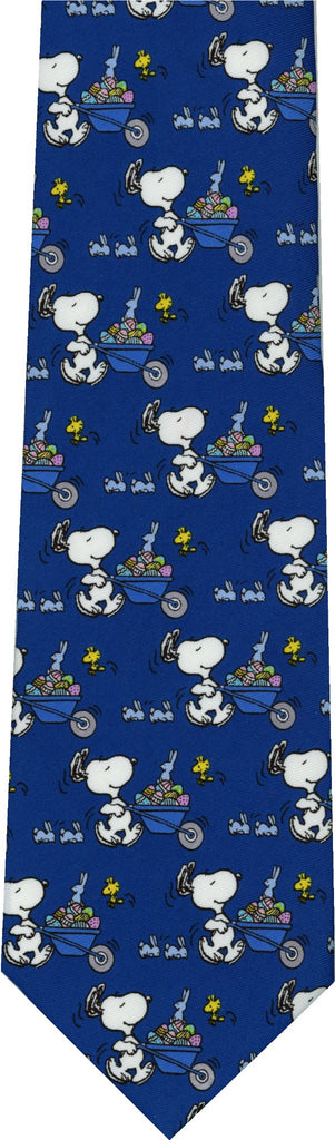 Peanuts Woodstock Snoopy Easter Cartoon New Mens Novelty Necktie