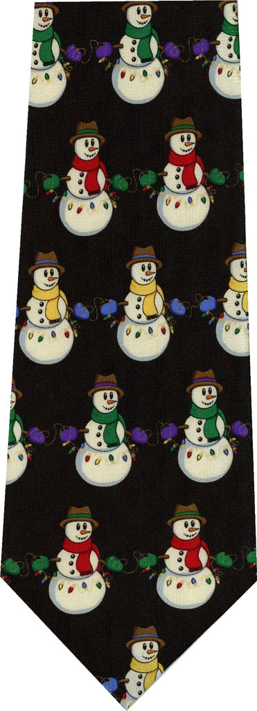 Primary Snowman Christmas New Novelty Tie
