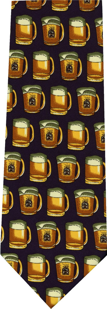 Beer Mugs New Novelty Tie