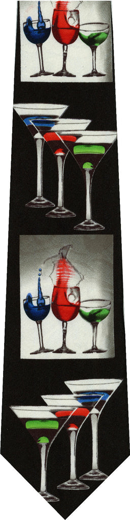 Martinis and Mixed Drinks New Novelty Tie