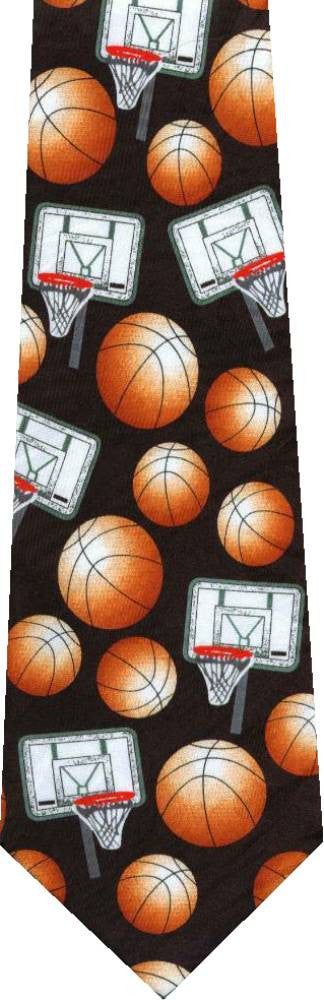 Basketballs New Novelty Tie