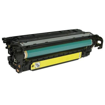 LINKYO Replacement Yellow Toner Cartridge for CE252A / HP 504A