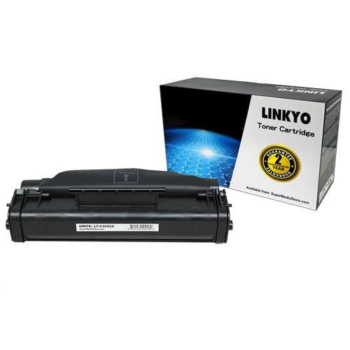 LINKYO Replacement Black Toner Cartridge for HP 92A C4092A