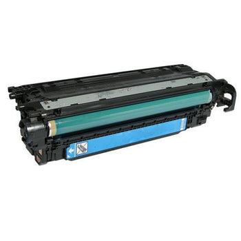 LINKYO Replacement Cyan Toner Cartridge for CE251A / HP 504A