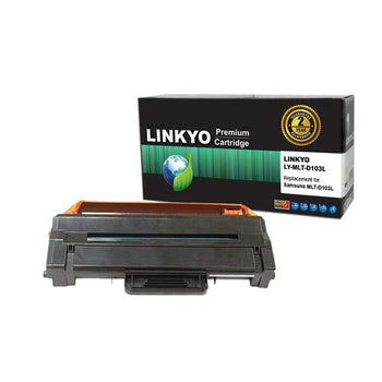 LINKYO Replacement Black Toner Cartridge for Samsung MLT-D103L