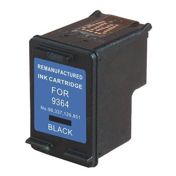LINKYO Replacement Black Ink Cartridge for HP 98