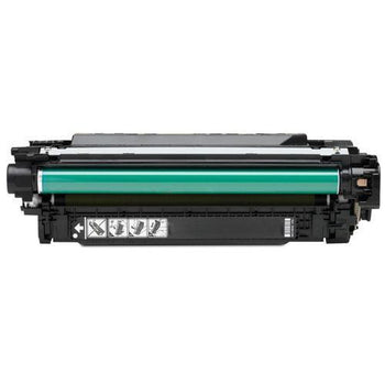 LINKYO Replacement Black Toner Cartridge for CE250X / HP 504X