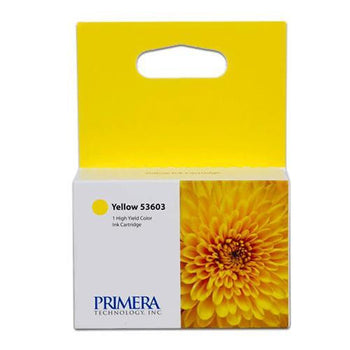 Primera 53603 Yellow OEM Genuine Inkjet/Ink Cartridges (Bravo 4100 Series)