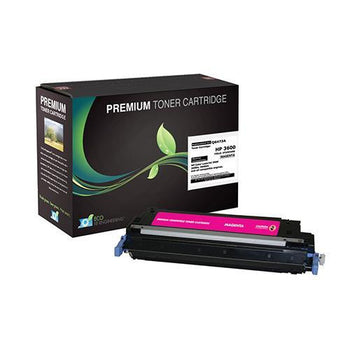LINKYO Replacement Magenta Toner Cartridge for HP 502A Q6473A