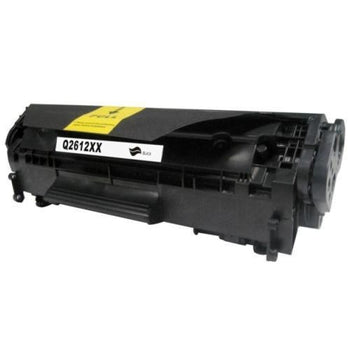 Generic Replacement Black Toner Cartridge for Q2612X / HP 12X