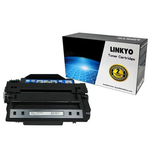 LINKYO Replacement Black Toner Cartridge for HP 51A Q7551A