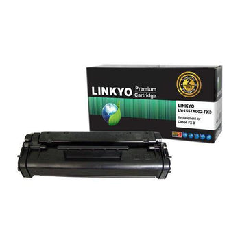 LINKYO Replacement Black Toner Cartridge for Canon FX-3