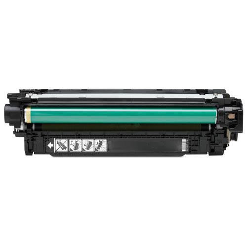 LINKYO Replacement Black Toner Cartridge for CE250A / HP 504A