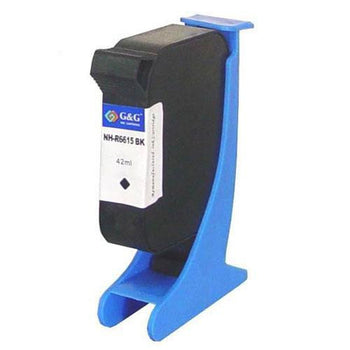 LINKYO Replacement Black Ink Cartridge for HP 15
