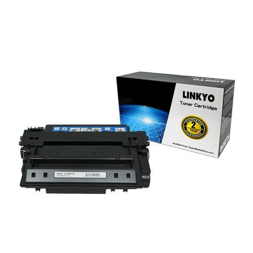 LINKYO Replacement Black Toner Cartridge for HP 11A Q6511A